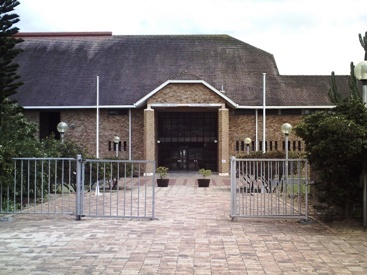 Entrance to Fish Hoek Senior High School