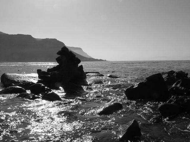 Jaegers walk Fish Hoek view out towards Kalk Bay