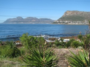 The view from Kalk Bay to Simons Town which could soon be dissappearing if the developer gets his way